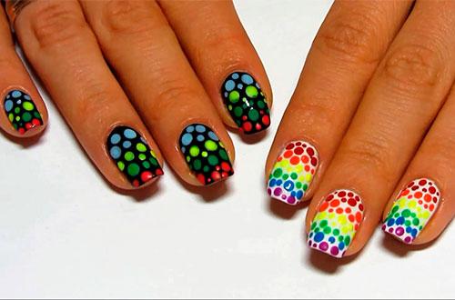 дизайн ногтей ярких фото