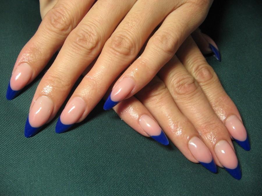 Дизайн миндальных ногтей фото