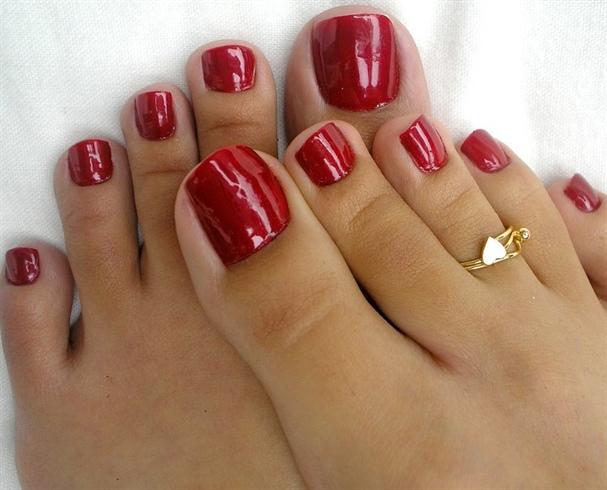 Ногти гель лак ноги