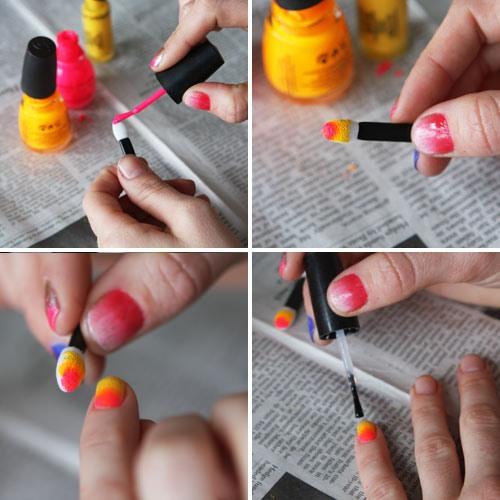 Как накрасить ногти дома самой