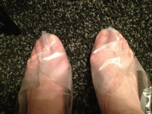 Японские отшелушивающие носочки