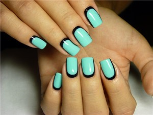 Дизайн ногтей с лунками