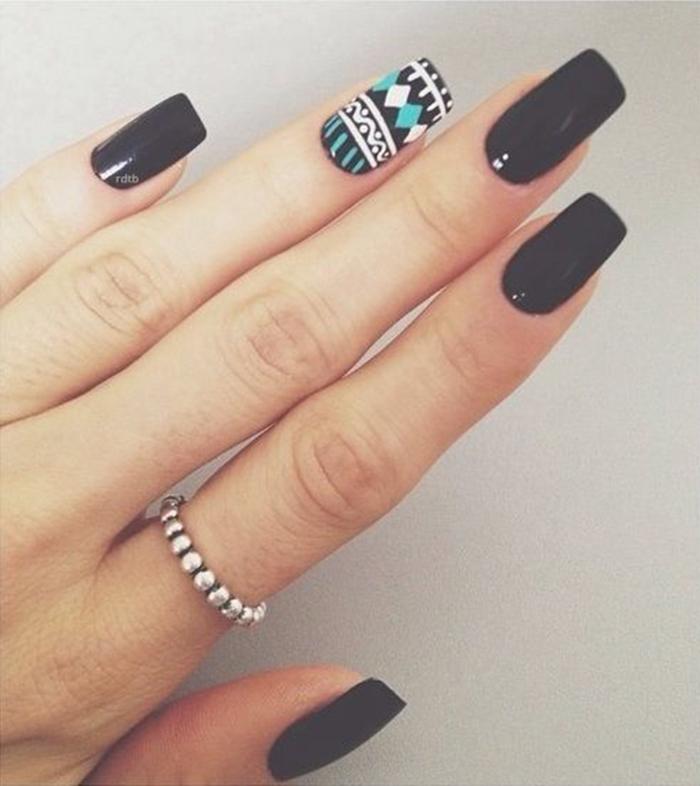 Как сделать наклейки на ногти из лака для ногтей