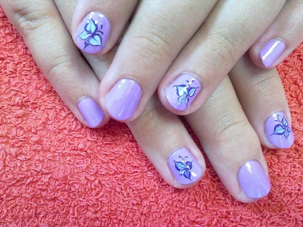 Как сделать ногти в 10 лет фото 213